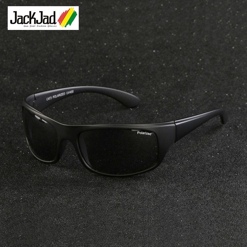 Jackjad Мода 2017 г. Спорт на открытом воздухе поляризованные Солнцезащитные очки для женщин очки Для мужчин для вождения Рыбалка Бег путешестви...
