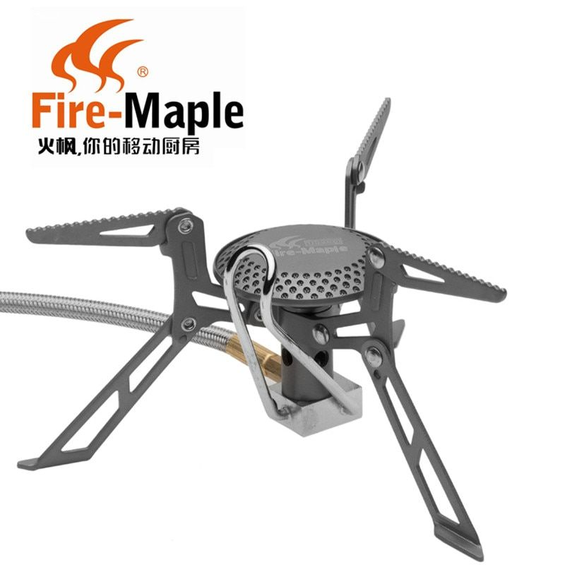 Fire Maple FMS-117H  Upgraded version Camping Gas Stove Ultra Light Titanium Alloy Outdoor Cooker Gas Burner Good Packing