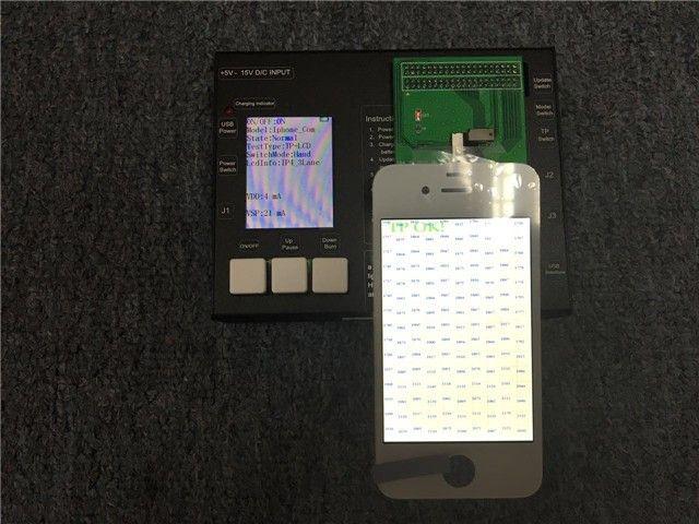 Für iPhone 6 s, 6 s plus, 7, 7 plus, 8, 8 plus LCD Tester Maschine LCD und Touch-Screen Testen Rahmen Maschine Prüfung + test board