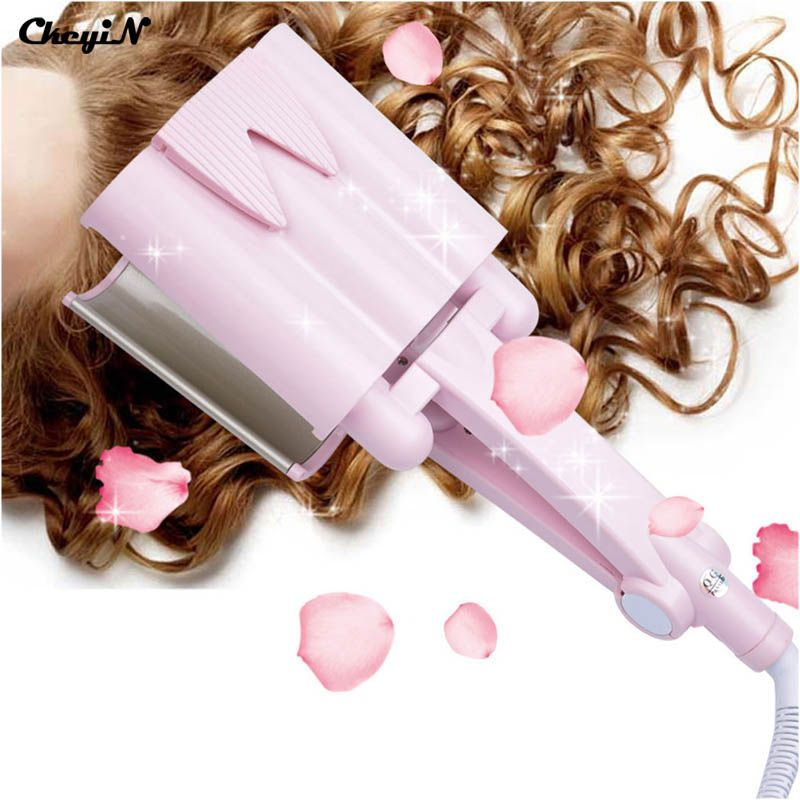 32MM Hair Curler Roller Curling Iron Curl Styler Machine Rizador Pelo De Style Curlers Styling Tools Perm Irons Ceramic -S41