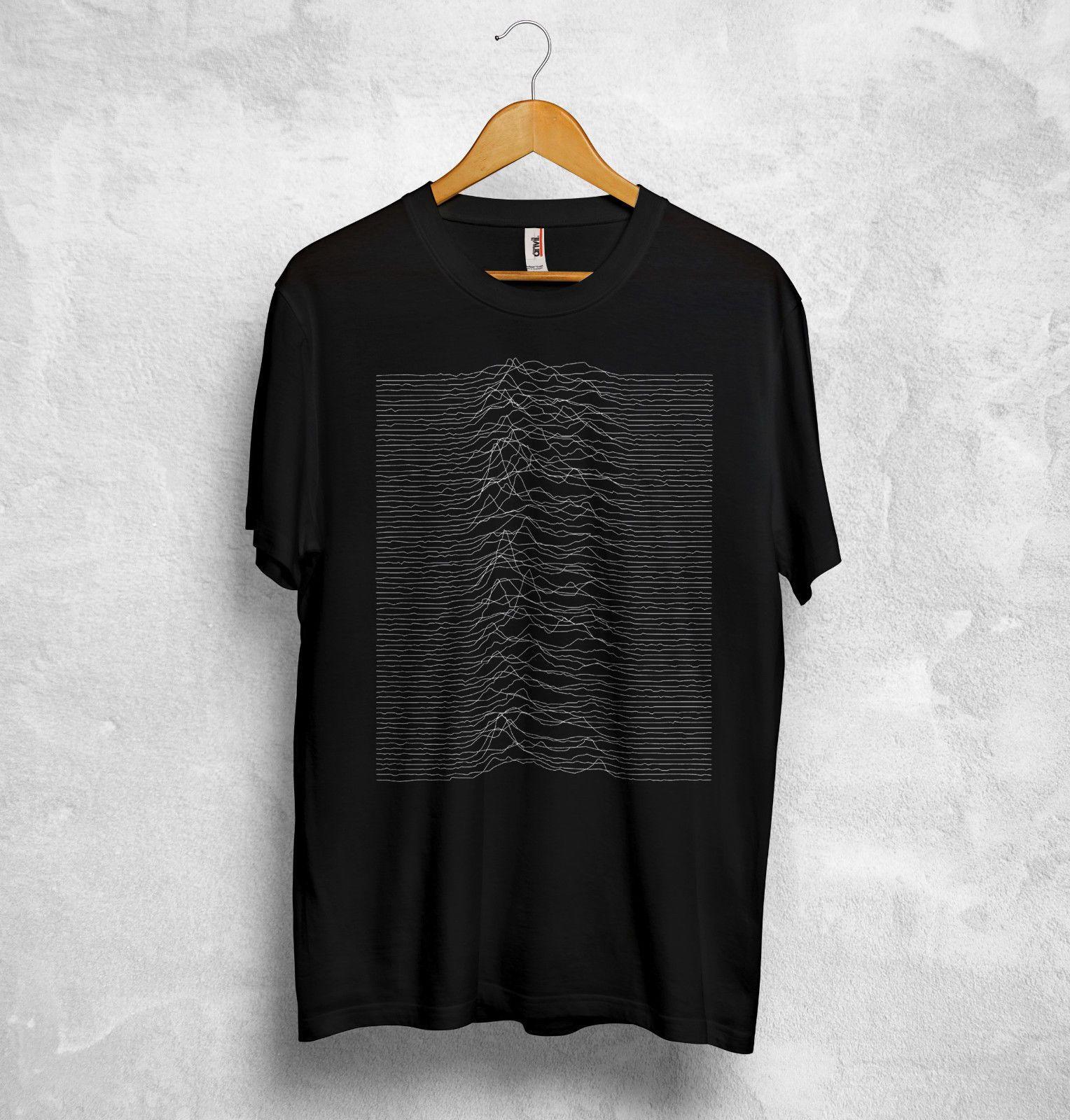 Plaisirs inconnus T Shirt Top Joy Division Anglais Rock Transmission La Cure Nouveau Mode pour Hommes T-Shirt Manches Top Tee