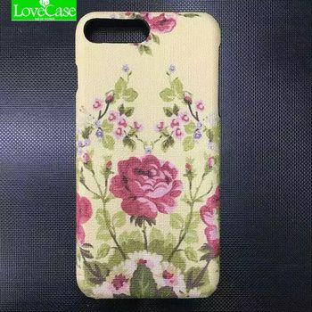 Lovecase чехол для iPhone 7/7 Plus 7 Plus модные кожаные сухоцветы телефон Обложка чехол пчелы цветок чехол телефона