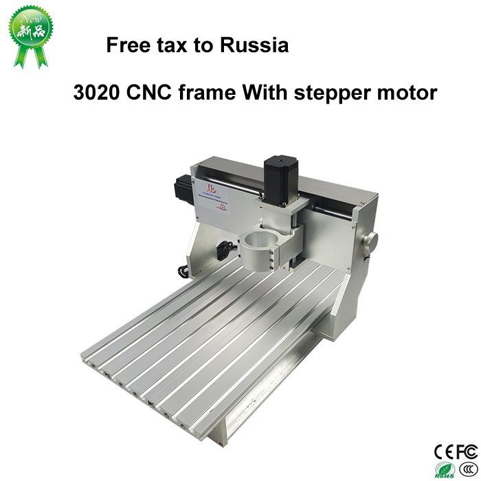 Keine notwendigkeit steuer, nur Russland, 3020 CNC rahmen von cnc router Maschine Mit schrittmotor