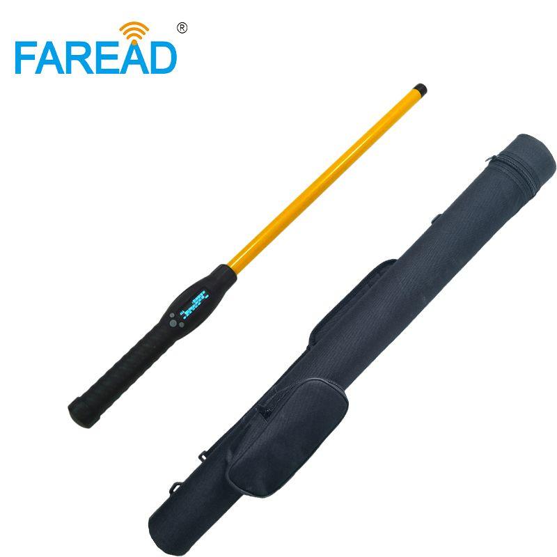 RFID Stick Reader Bluetooth/USB FDX-B HDX handheld tragbare tier chip scanner für vieh daten identifikation Android app
