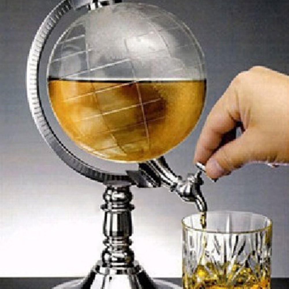 PREUP Unique Mini Globe Shape Home Night Club Beverage Liquor Dispenser Beer Liquid Drinking Dispenser Machine Tool Hot Sale