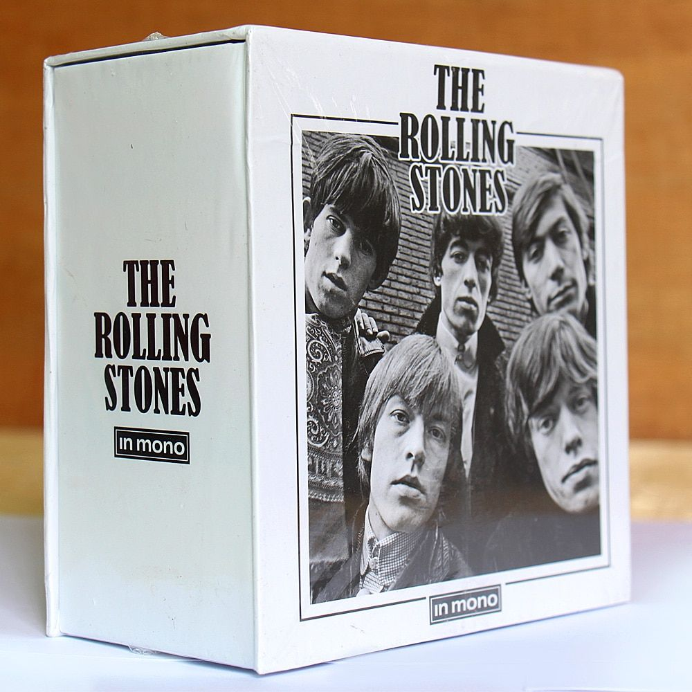The Rolling Stone In Mono 15CD Box Set Free Shipping Rolling Stone CD Chinese <font><b>Factory</b></font> NEW SEALED VERSION