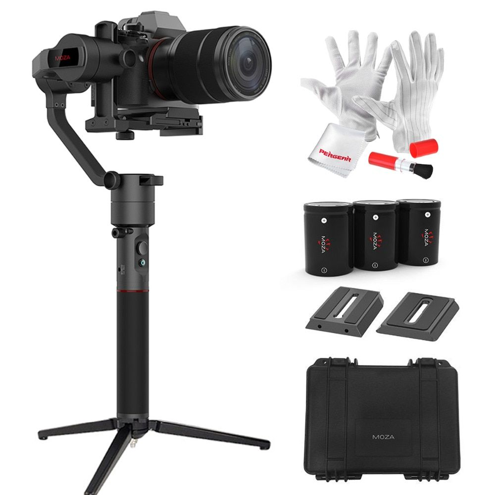 MOZA AirCross 3 Axis Handheld Gimbal for Mirrorless Load 1800g Parameter Auto-Tuning Long Exposure Time-lapse PK Zhiyun Crane M