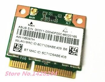 SSEA Original nouveau Atheros AR5B225 WIFI Bluetooth BT 4.0 demi-MINI carte sans fil PCI-E 300 Mbps