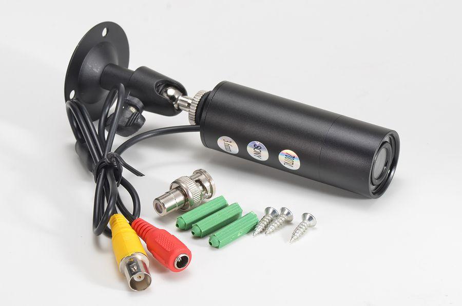 2016 Mise À Niveau Nouvelle En Plein Air étanche mini cctv caméra 8 pcs 940nm led Non-Lumineux Sony 700TVL SONYCCD Bullet Mini CCTV Caméra