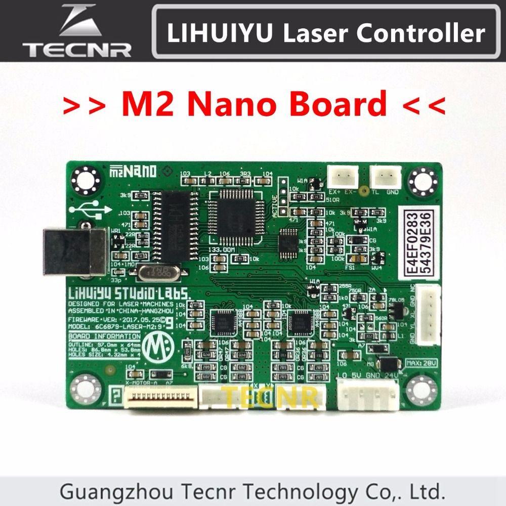 TLIHUIYU M2 Nano Mother Main Board Laser Control System for DIY 3020 3040 K40 6040 laser cutter