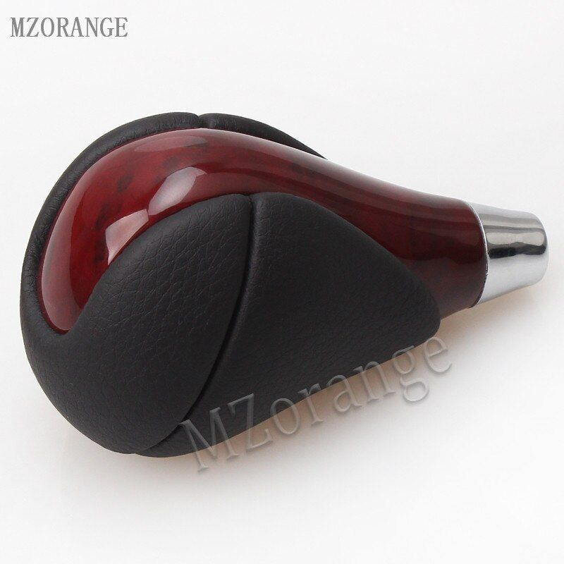 MZORANGE Brown Wood Gear Shift Knob For Lexus RX350 RX450h IS250 IS350 ES300 ES350 GS300 GS350 LS460 LS430 LS600h LX470