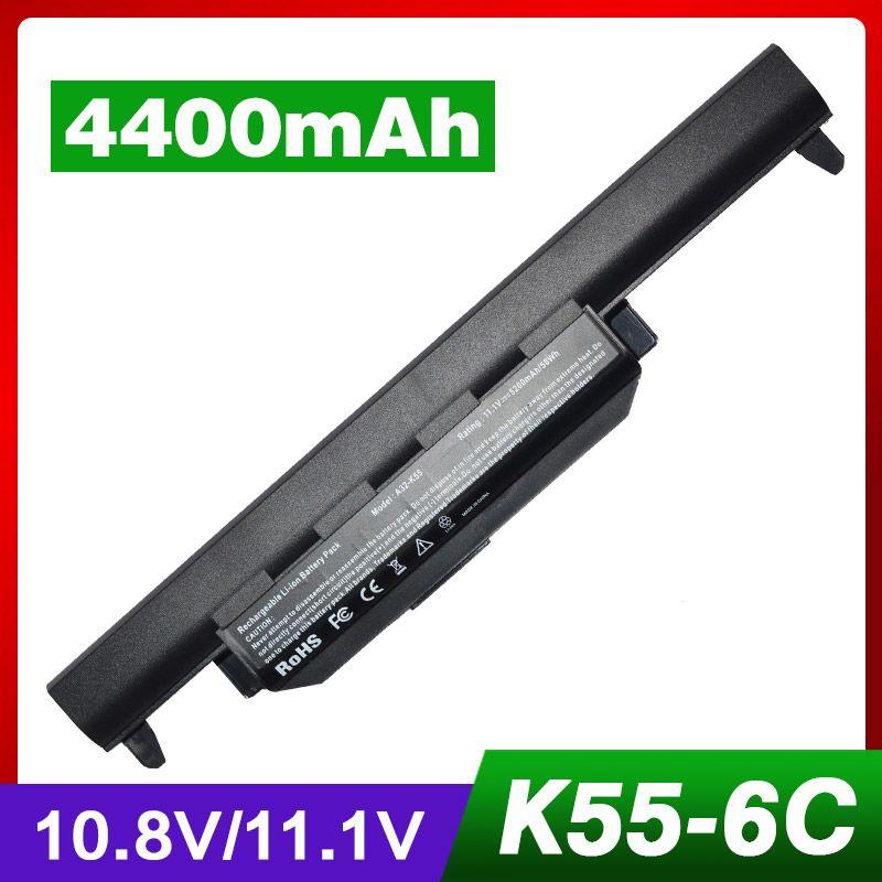 4400mAh laptop battery for ASUS X75V R500A R500D R500DE R500DR R500N R500V R500VD R500VM R500VS R700 R700D R700DE R700V R700VD