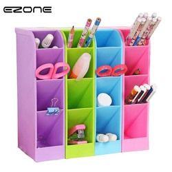 EZONE 1 PC Multi-fonction En Plastique PP Boîte De Rangement De Bureau Cas 4 Grille Sous-grille maquillage Cosmétique Bureau de porte-Stylo Crayon Organisateur
