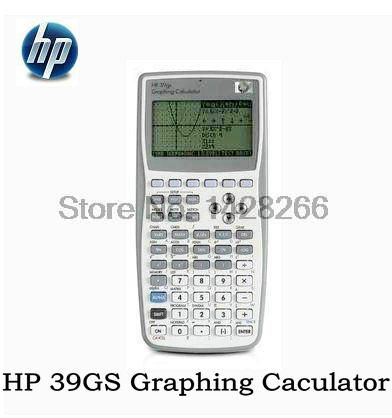 1 Piece New Original Graphics Calculator for HP 39gs Graphics Calculator teach SAT/AP test for hp39gs