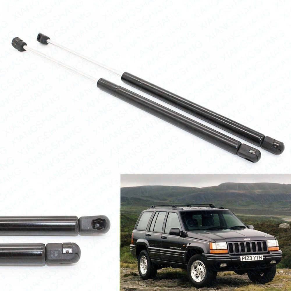 2pcs Rear Window Glass Gas Charged Lift Support For Jeep Grand Cherokee 1994 1995 1996 1997 1998 Car Damper Gas Spring