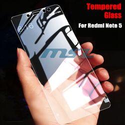 2 Pcs/lot Plein Écran En Verre Trempé Pour Xiaomi Redmi Note 5 Pro protecteur 9 H 2.5D Anti Blu-ray Trempé verre Pour Redmi Note 5