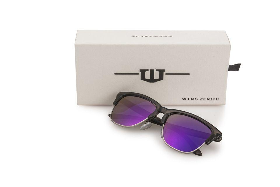 winszenith 249 New sunglasses retro color sunglasses European trend color film sunglasses 12 piece
