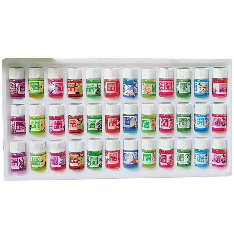 Ароматерапевтический масло увлажнитель масло с 12 видов аромат 36 бутылку набор Фирменная Новинка водорастворимый масло эфирное Масла