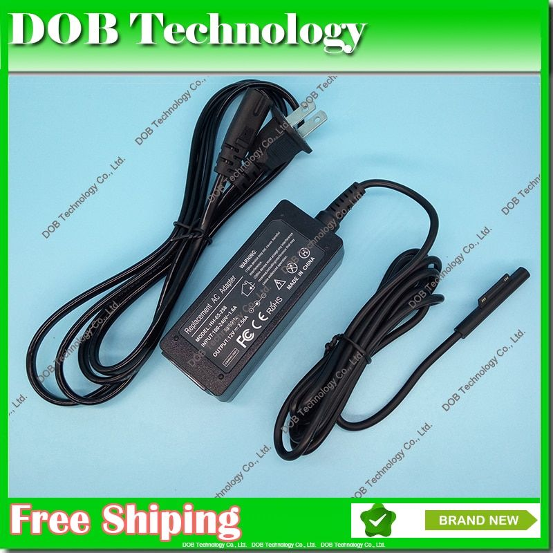 New 12V 2.58A 36W power adapter charger for Microsoft Surface Pro3 Pro 3 With AC cord US/EU Plug Free Shipping