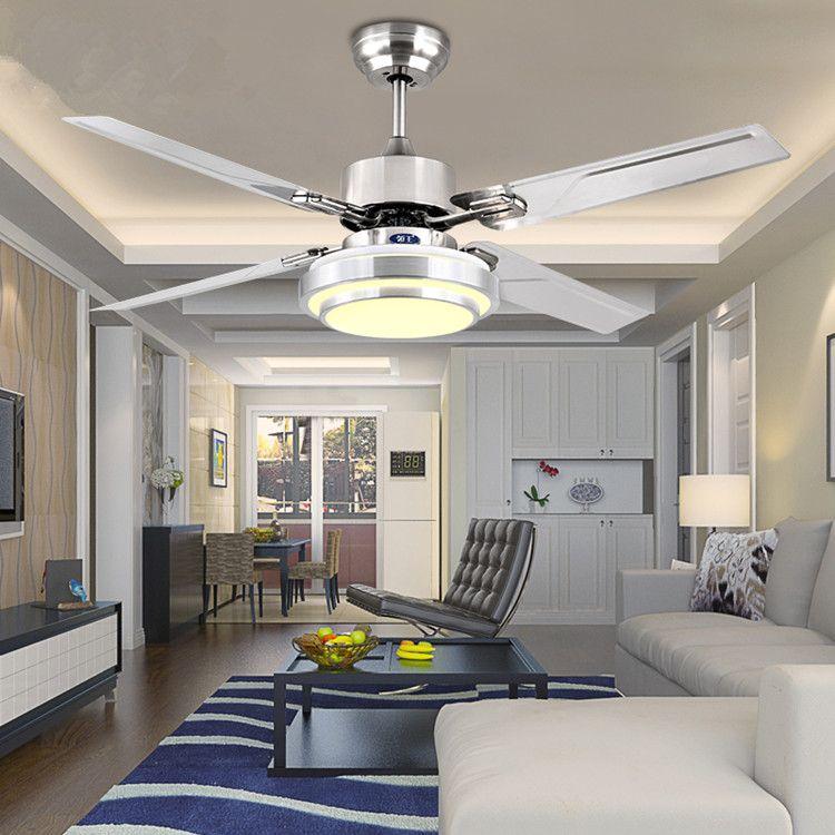 FÜHRTE deckenventilator moderne 42 zoll fan esszimmer FÜHRTE kronleuchter Europäischen antiken wohnzimmer ventilator mit Led-beleuchtung
