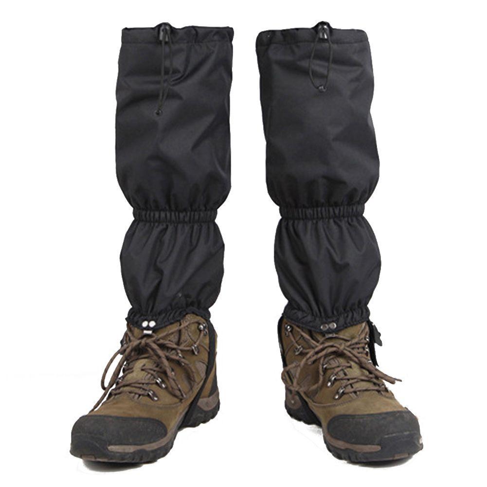 Unisex Beinwärmer Wasserdichte Outdoor Wandern Legging Abdeckung Wandern Klettern Jagd Schnee Oxford Stoff Gamasche Abdeckungen