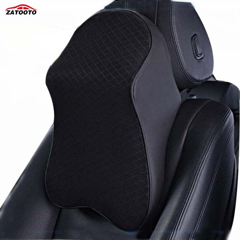 New Car Neck Pillow Travel Headrest Support Memory Foam Multifunctional Neck Cushion & Lumbar Support