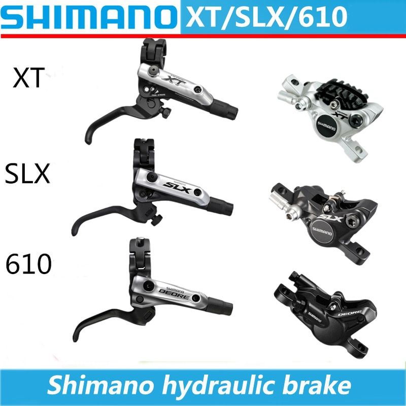 SHIMANO XT / SLX / Deore BL-M8000 / 675/615 MTB Bicycle Mountain Vehicle Hydraulic Disc Brake Bicycle Disc Brake Hydraulic Brake