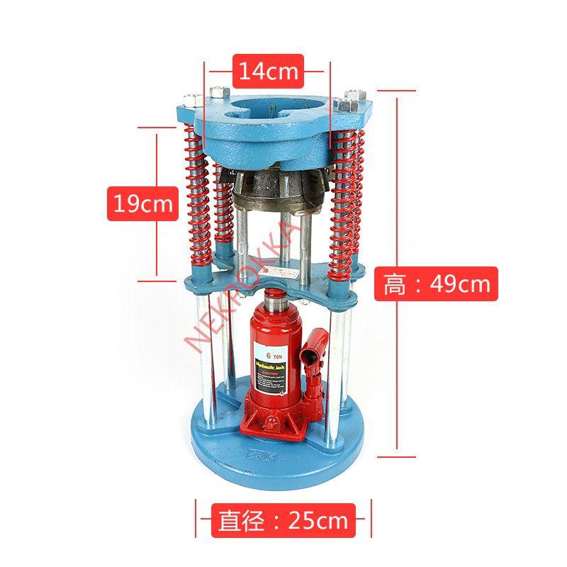 Auto AC Hose Crimping Machine,A/C Hydraulic Hose Crimper Crimping Machine ( Crimp #6 - #14 )