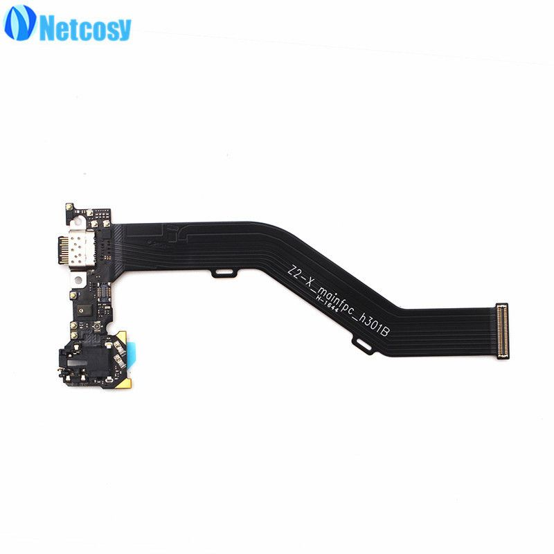 Netcosy For Lenovo Zuk Z2 Edge USB Charger Flex Cable Charging Connector Dock Flex Cable Repair For Lenovo ZUK Edge Z2