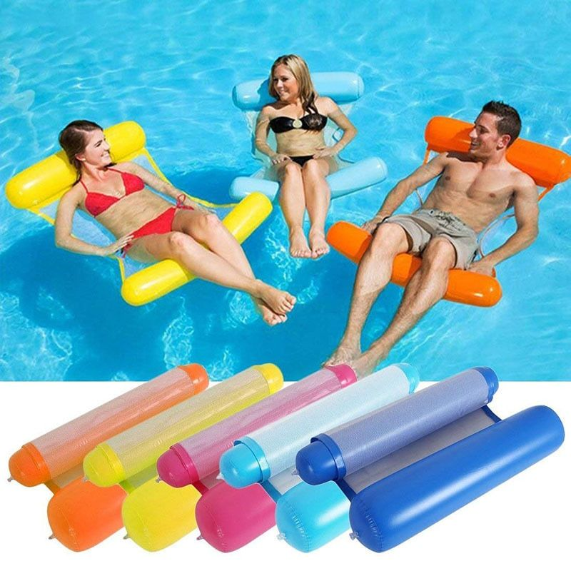 YUYU piscine gonflable flotteur piscine chaise anneau de bain lit flotteur chaise gonflable flotteur chaise piscine chaise eau piscine partie piscine jouet