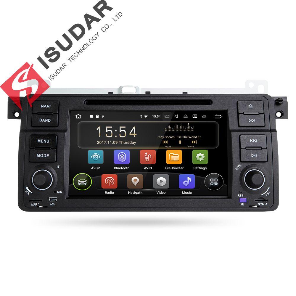Isudar Car Multimedia Player Android 7.1.1 GPS 2 Din Autoradio For BMW/E46/M3/MG/ZT/Rover 75/320/318/325 2GB RAM Radio AM FM DSP