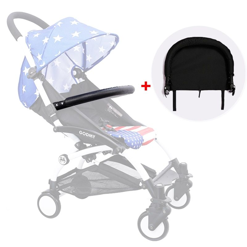 Baby Stroller Foot Rest and Armrest for Babyzen Yoyo Yoya Babytime Stroller Infant Baby <font><b>Carriages</b></font> Feet Extension Accessories