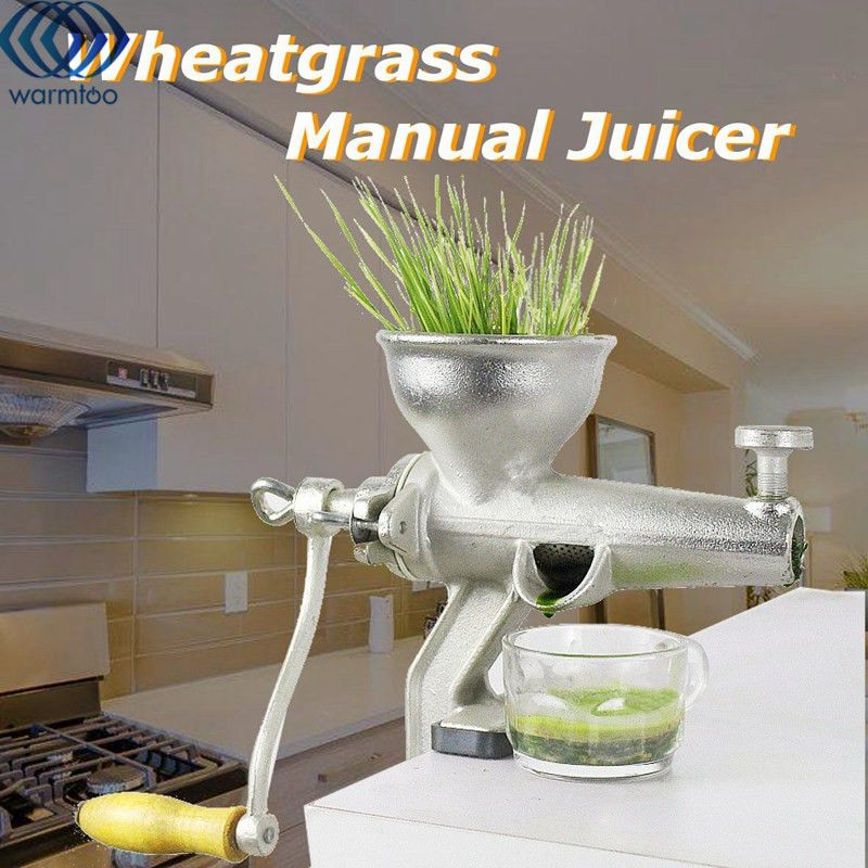 Manual Fruit Vegetable Juicer Metal Reamer Squeezer Wheat Grass Orange Juicer Hand Operated Home Kitchen Tools Accessories