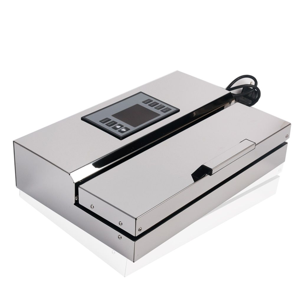 Professional Food Vacuum Sealer Stainless Steel Semi-automatic Packing Machine Special Packing Tools With Packing Bags