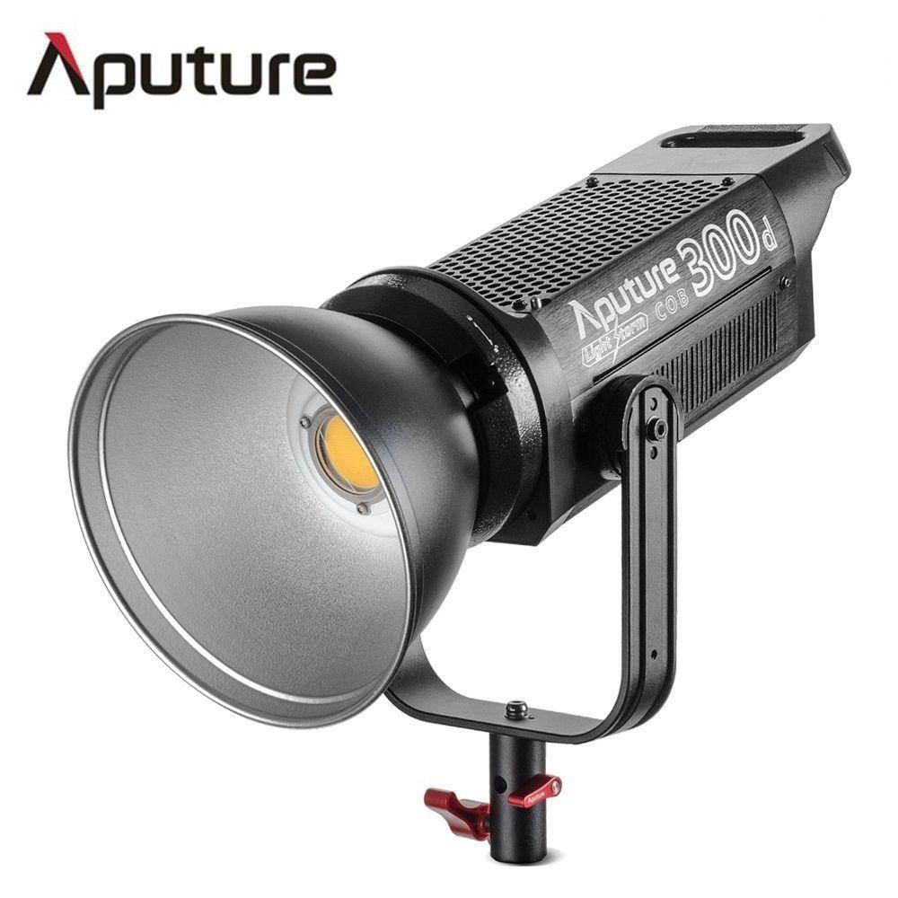 Aputure LS C300d COB licht 300 watt ausgang 5500 karat farbe temperatur TLCI 96 + professionelle schießen dreharbeiten licht V -montieren