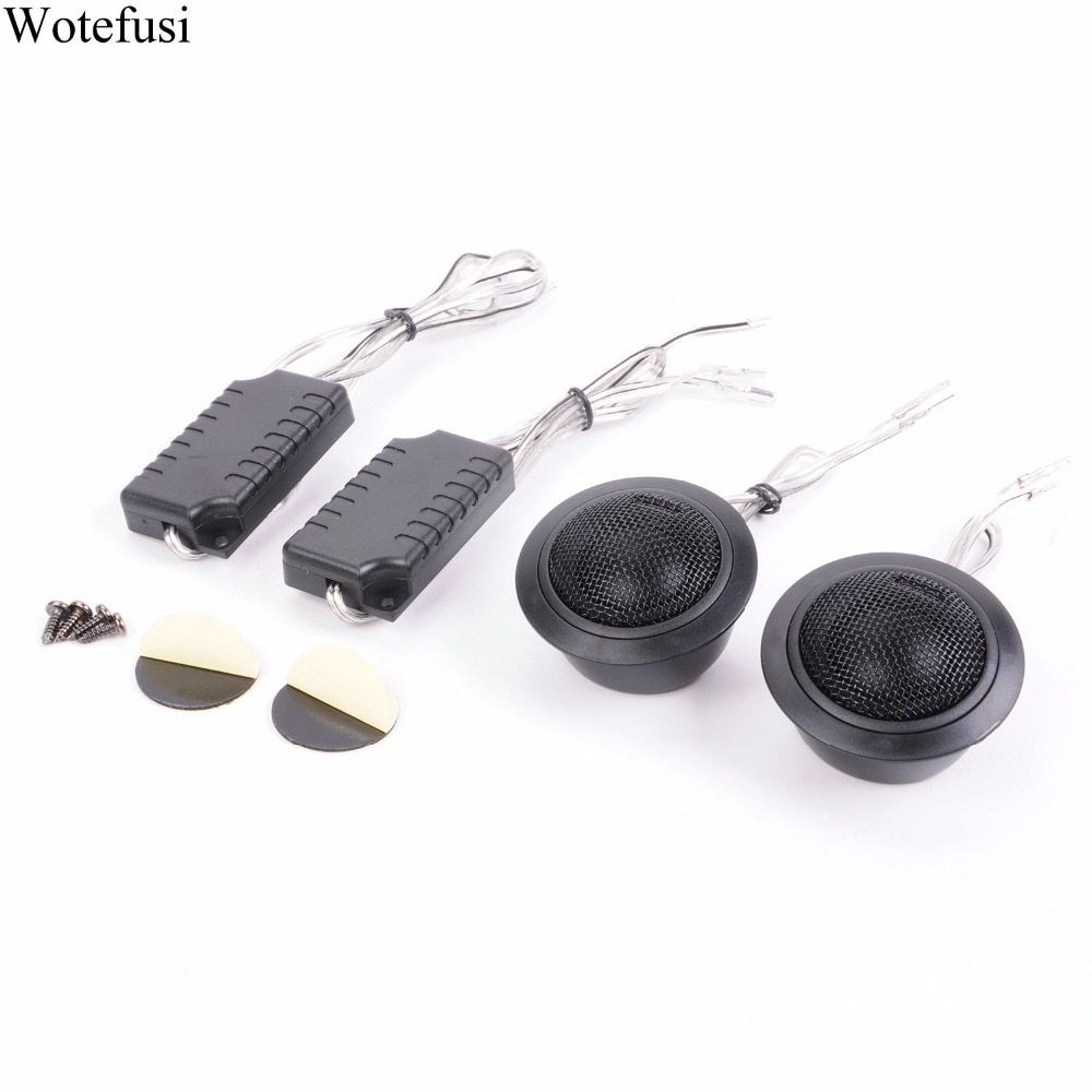 Wotefusi Car Speaker Tweeter 120W Hot Super Power Loud Dome Tweeters High Quality No Complaint 92 dB In Stock [CP505]