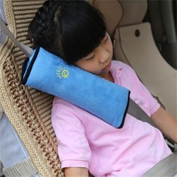 2018 de alta calidad Auto del coche de la almohadilla del bebé cinturón de seguridad protege el cojín de hombro ajusta el cinturón para niños