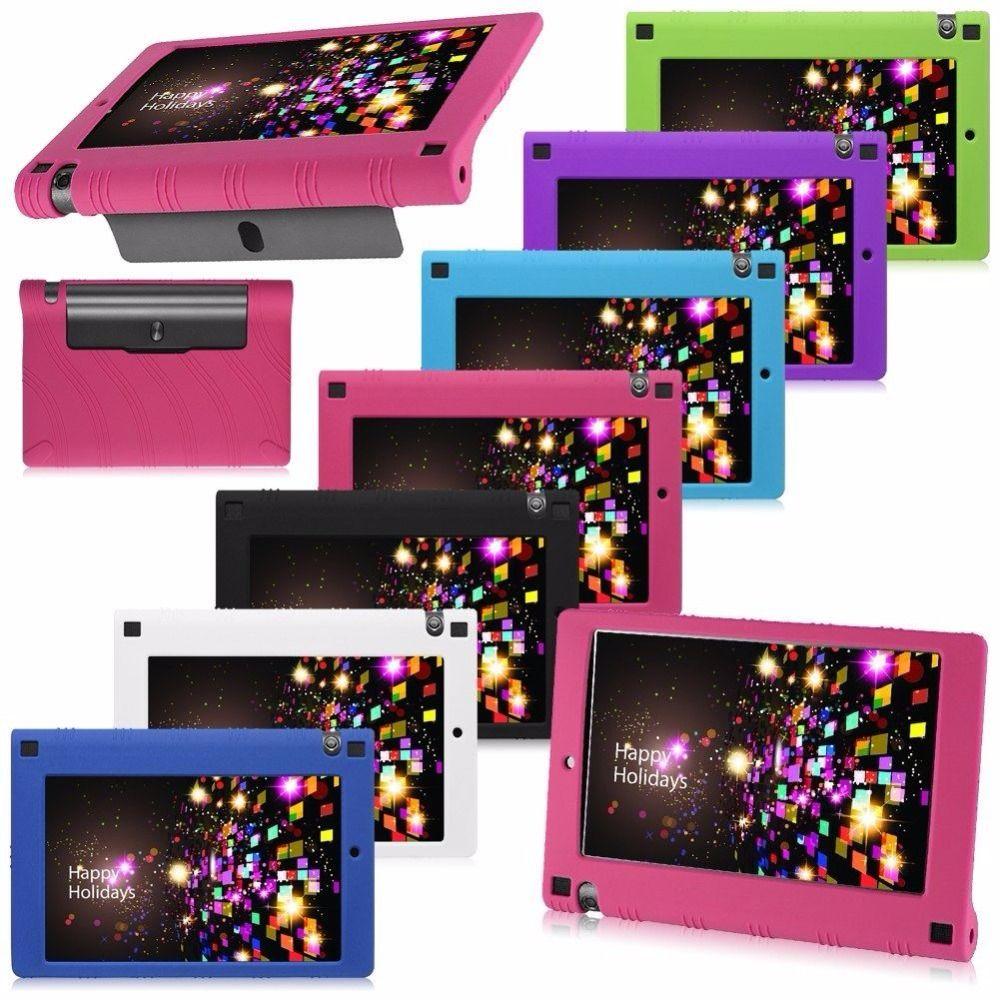 Étui en silicone pour Lenovo Yoga Tab 3 850f étui en caoutchouc coque pour Yoga Tab 3 850F tablette Funda étui pour Yoga Tab 3