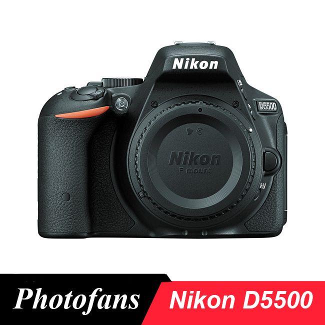 Appareil photo reflex numérique Nikon D5500-24.2MP-vidéo-écran tactile Vari-Angle-WiFi (tout neuf)