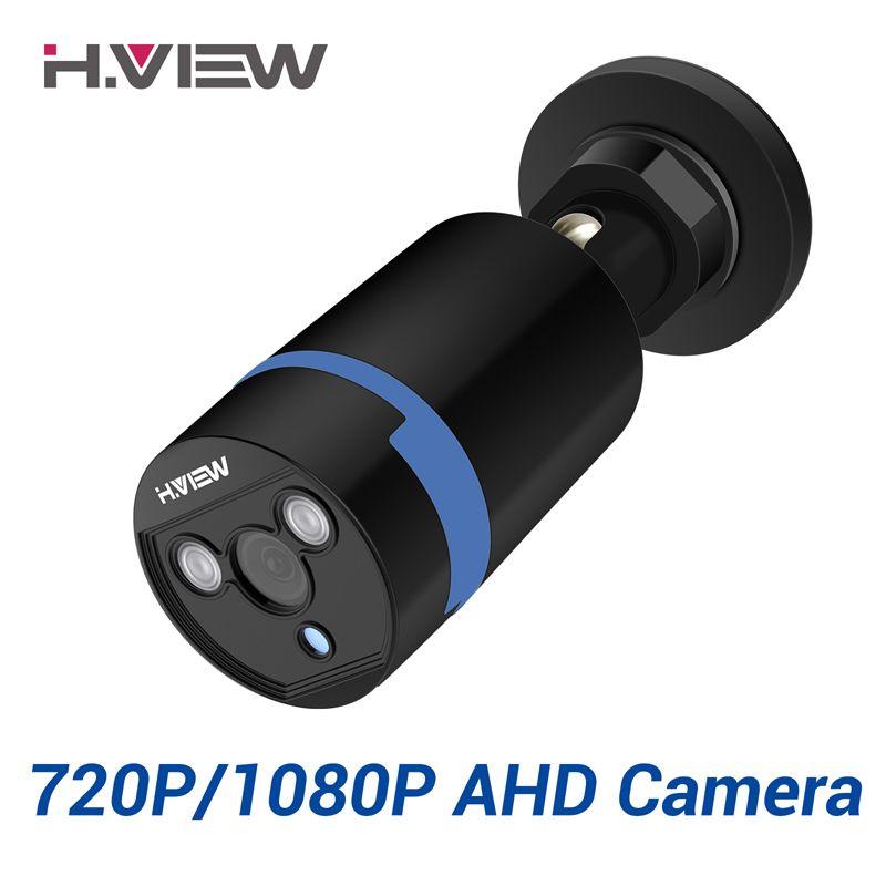H.VIEW <font><b>2.0mp</b></font> 1080P Full HD Surveillance Cameras Strong Infrared 720P HD Security Camera CCTV Camera Video Cameras