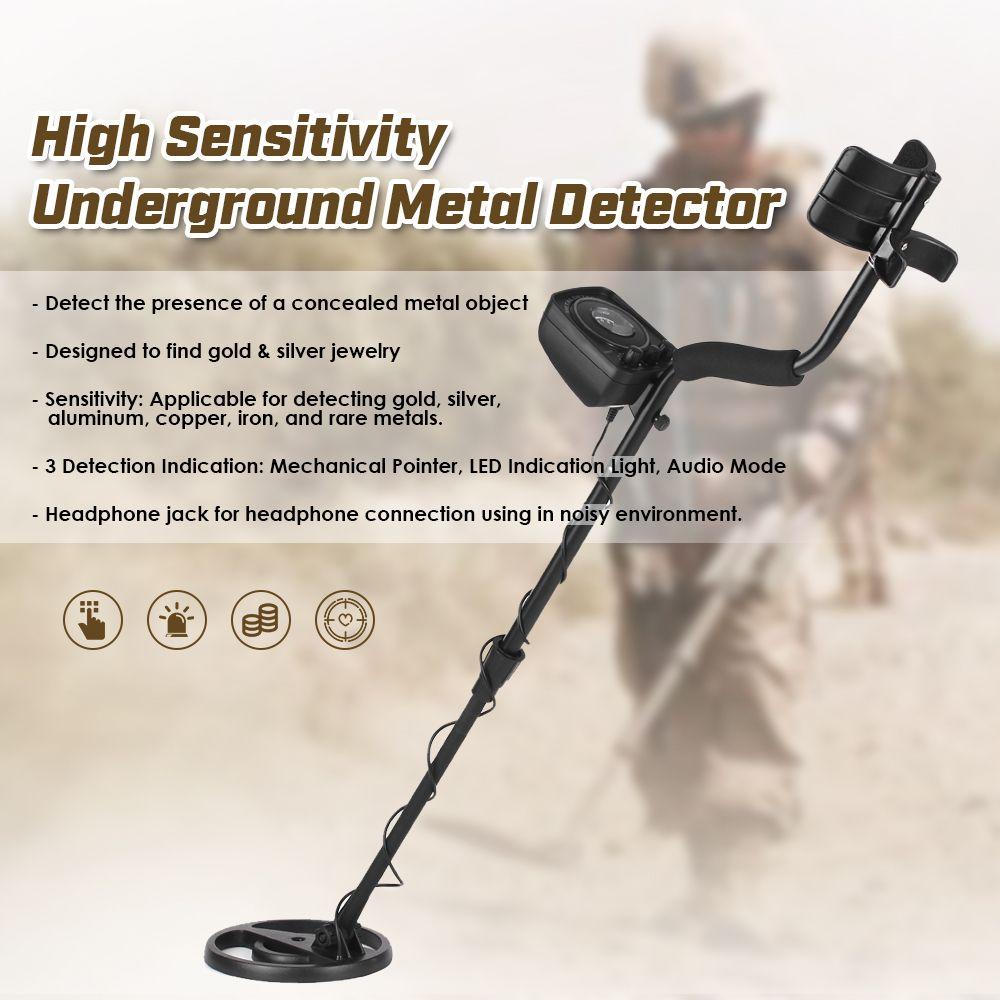 Underground Metal Detector Ground Meter Detector Gold Hunter Gold Metal Detector High Sensitivity Metal Detectr GC1065