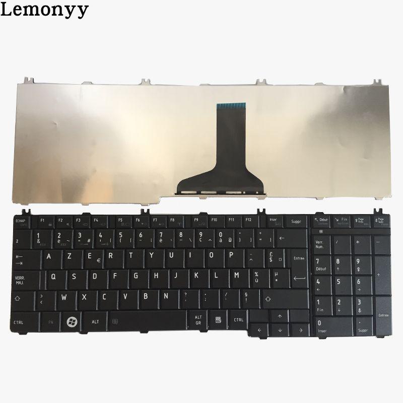 Clavier français Pour toshiba Satellite C650 C655 C655D C660 C670 L650 L655 L670 L675 L750 L755 l755d Noir ordinateur portable Clavier Fr