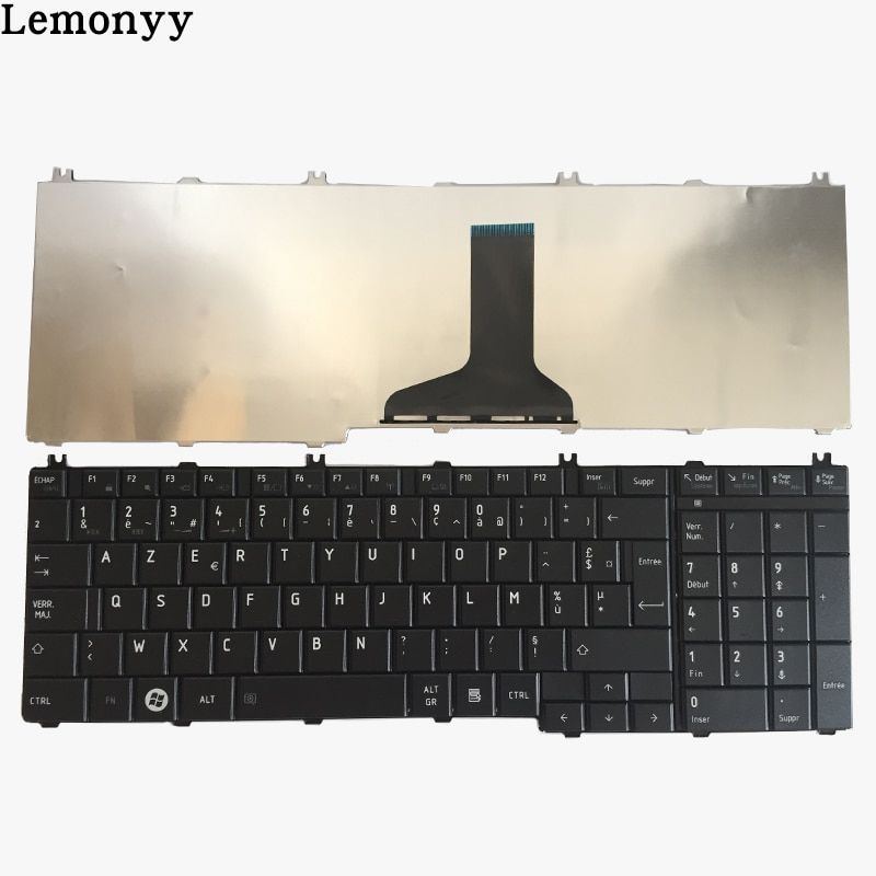 French keyboard For toshiba Satellite C650 C655 C655D C660 C670 L650 L655 L670 L675 L750 L755 l755d Black laptop Fr Keyboard