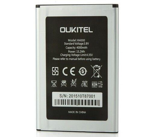 Neue Oukitel K4000 Batterie Ursprüngliche Qualität 4600 mAh Batterie Ersatz Für Oukitel K4000 Smartphone