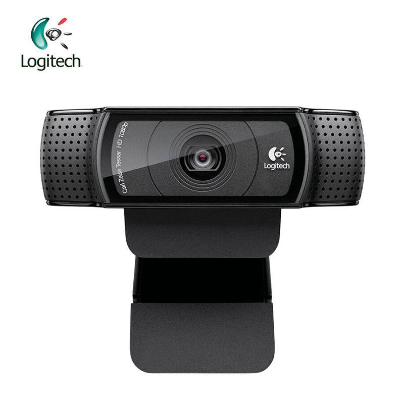 Logitech Pro C920 HD 1280*960 Webcam Unterstützung Offizielle Test mit 15 Millionen Pixel CMOS 30FPS für Windows 10/8/7