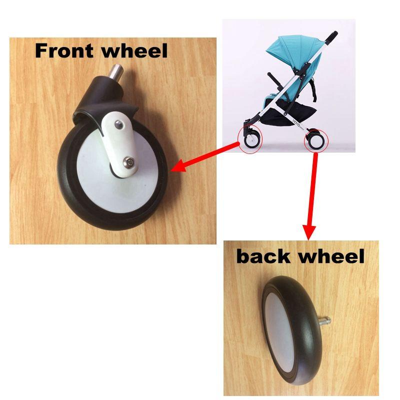 yoyaplus yoya plus stroller replace part Front Wheels Pushchair Back Rubber Wheel Kids Yoya Pram Stroller Accessories