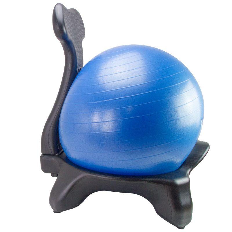 Balance Ball Chair Classic Yoga Ball Roller Chair