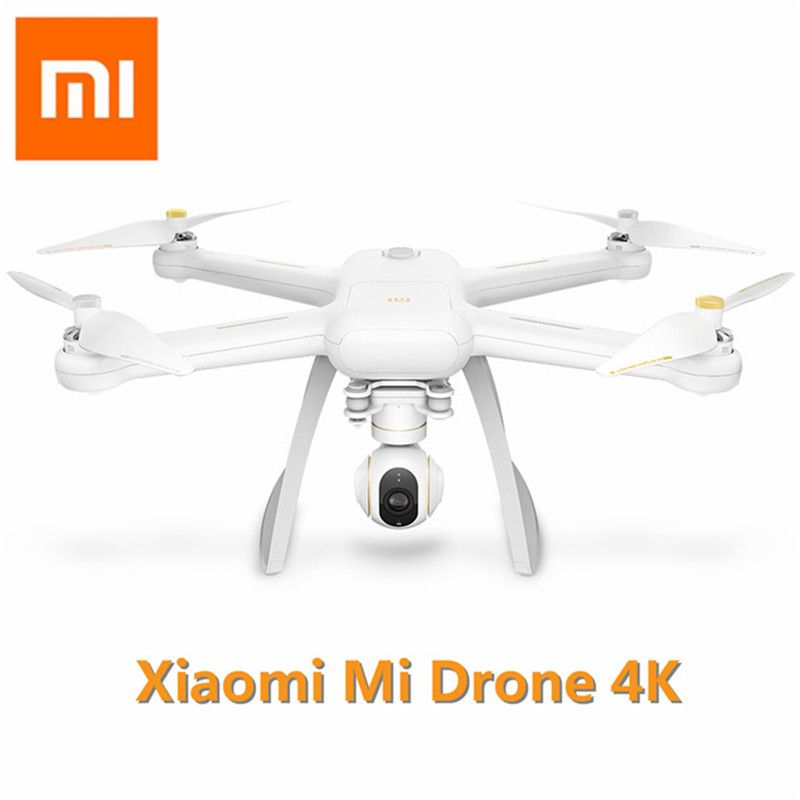 Original XIAOMI Mi Drone 4K HD GPS WIFI FPV 5GHz Quadcopter 6 Axis Gyro 3840 X 2160p / 30fps RC Quadcopters With Pointing Flight