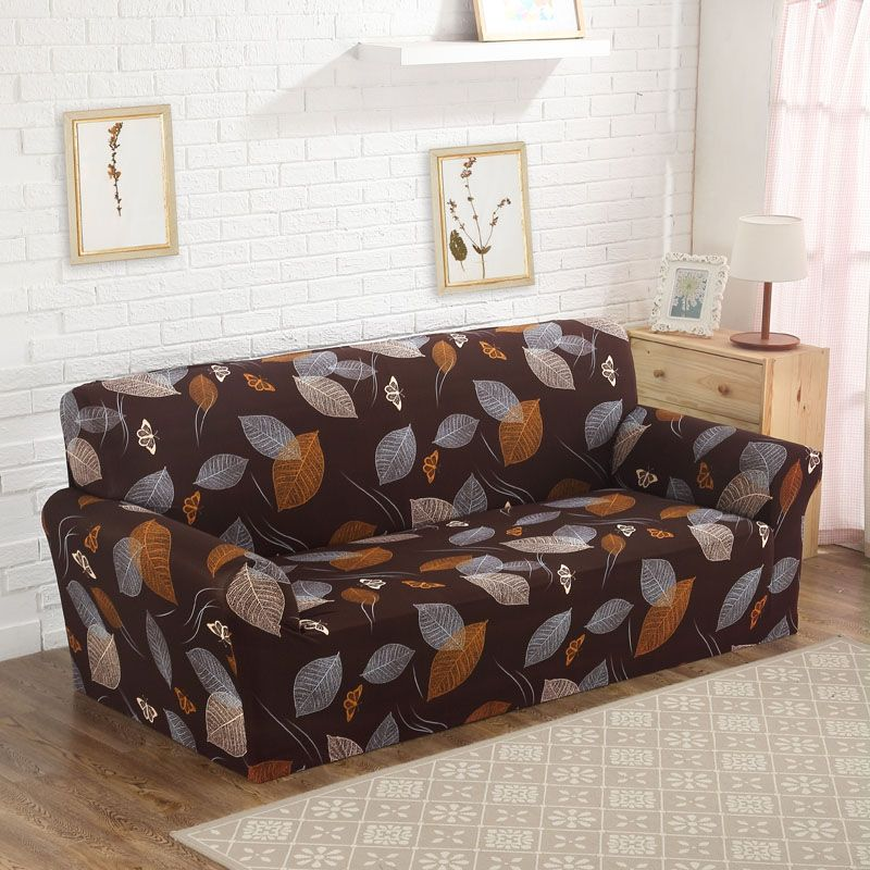 24 <font><b>colors</b></font> Tight Wrap All-inclusive Sofa Cover Big Elasticity Flexible Couch Cover Loveseat Slip-resistant 1/2/3/4-seater