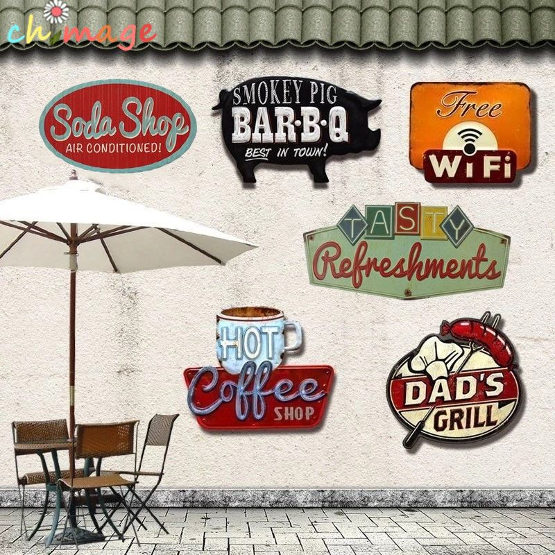 Ombre spéciale Vintage étain signe plaque Bar pub maison café Restaurant décor mural rétro métal Art autocollant affiche